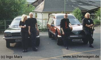 Auferstanden: Wolfi präsentiert sein Auto in Hagen